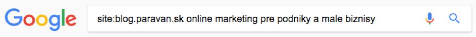 Chyba 404 - Google vyhľadávací výraz