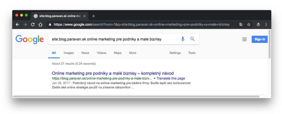 Výsledky vyhľadávania - 404 mapovanie stránok