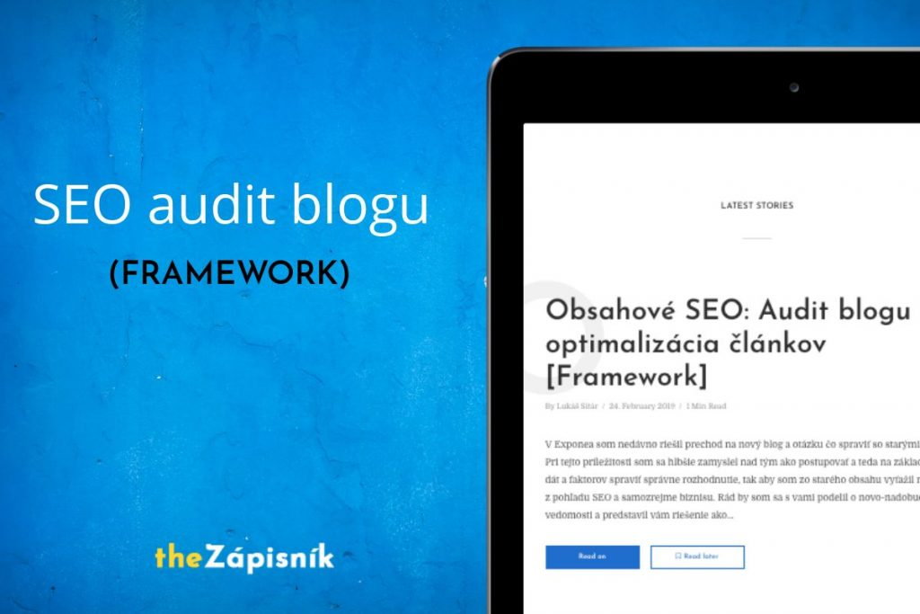Obsahové SEO: Audit blogu a optimalizácia článkov